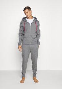 Diesel - UMLB-PETER TROUSERS - Pyjama bottoms - grey - 1
