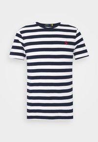 T-shirt med print - white/french navy