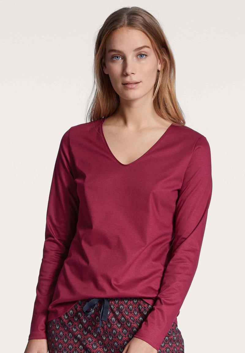 Calida - Pyjama top - dahlia pink