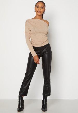 LESLEY DRAPY  - Långärmad tröja - tan