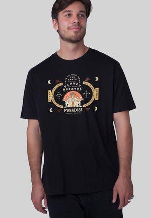 RETROPRINT - PARADISE - T-shirt print - black