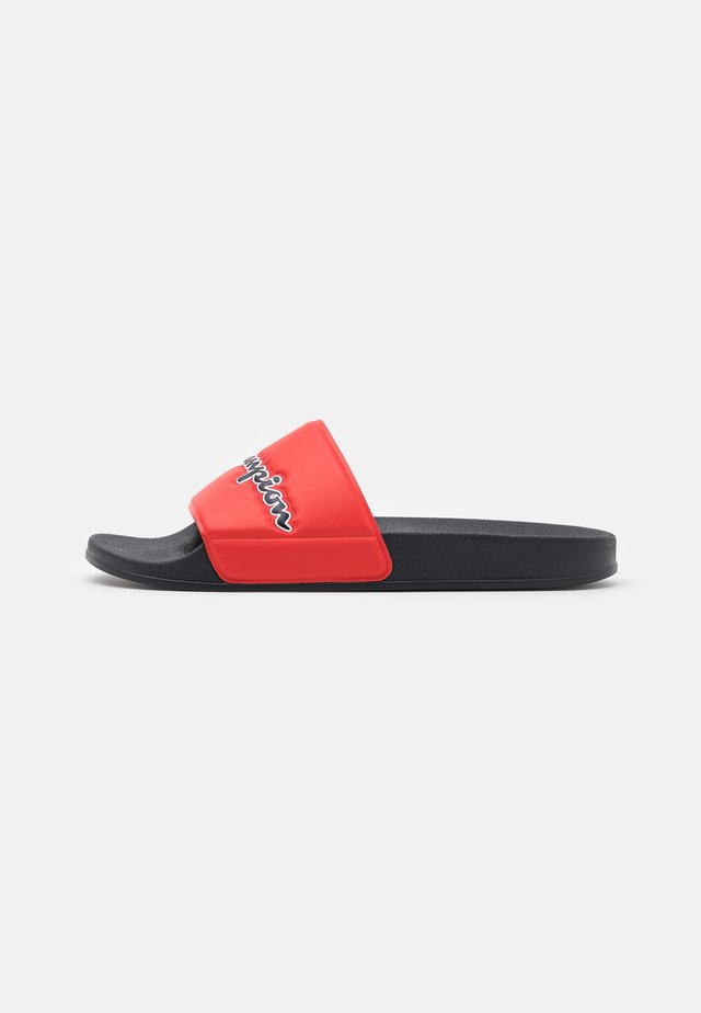 SLIDE EVO SCRIPT - Pool slides - navy/red