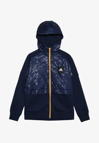 adidas Performance - ID COVER UP - Mikina na zip - collegiate navy/gold - 3