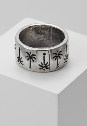 PALM TREE BAND RING - Anillo - silver-coloured