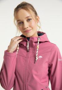 Schmuddelwedda - Outdoorová bunda - pink - 3