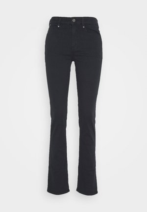 4311 MOTO HIGH STRAIGHT WMN - Straight leg jeans - mazarine blue