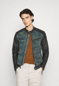 Be Edgy - ANDY  - Leather jacket - indigo - 0