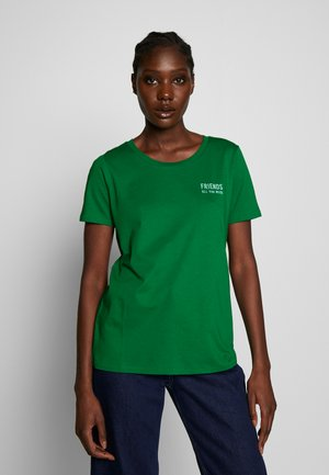 SHORT SLEEVE CREW NECK - T-shirts print - spring forest