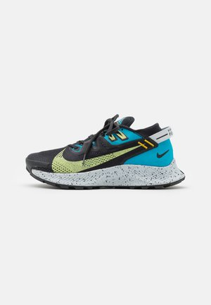 PEGASUS TRAIL 2 - Trail running shoes - off noir/limelight/laser blue