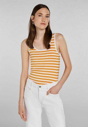 Toppe - white yellow