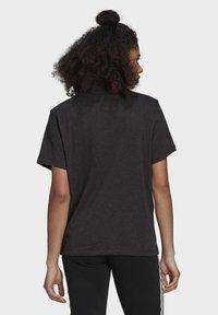 adidas Originals - TEE - T-shirt print - black melange - 1