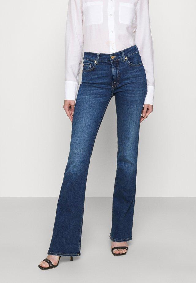 Jean bootcut - mid blue