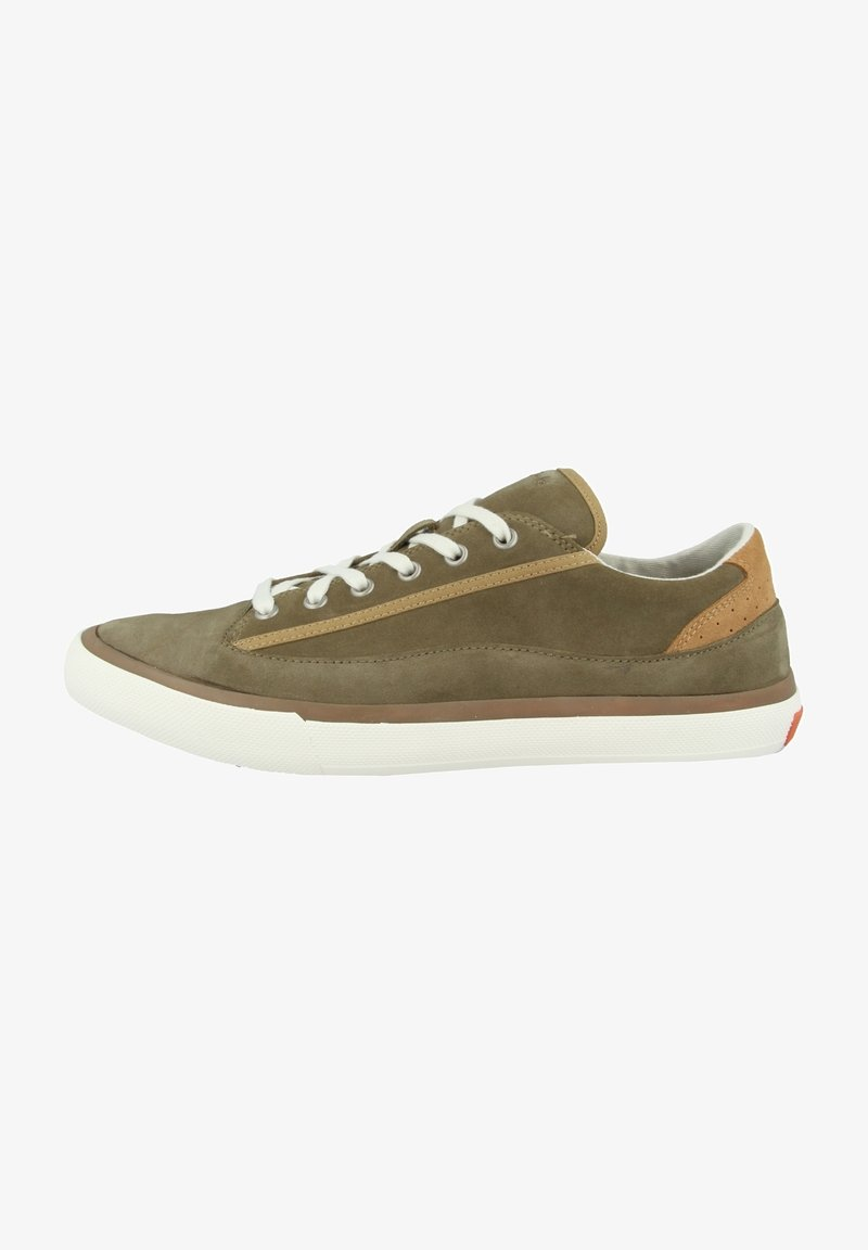 Clarks - ACELEY  - Sneakers - olive suede