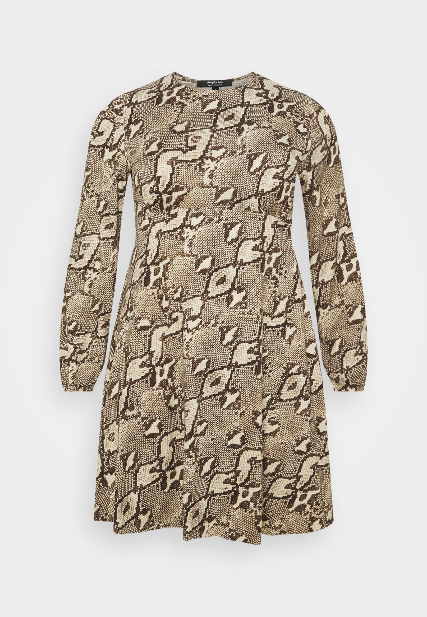 Women ALINE TEA DRESS - Jersey dress