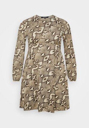 ALINE TEA DRESS - Jersey dress - taupe