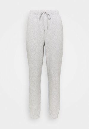 ONLFEEL LIFE PANT - Tracksuit bottoms - light grey melange
