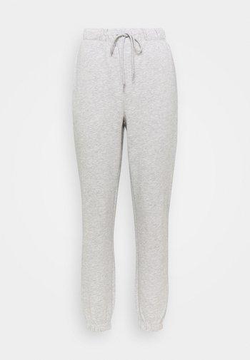 ONLFEEL LIFE PANT - Teplákové kalhoty - light grey melange