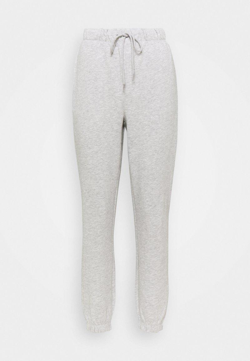 ONLY - ONLFEEL LIFE PANT - Teplákové kalhoty - light grey melange
