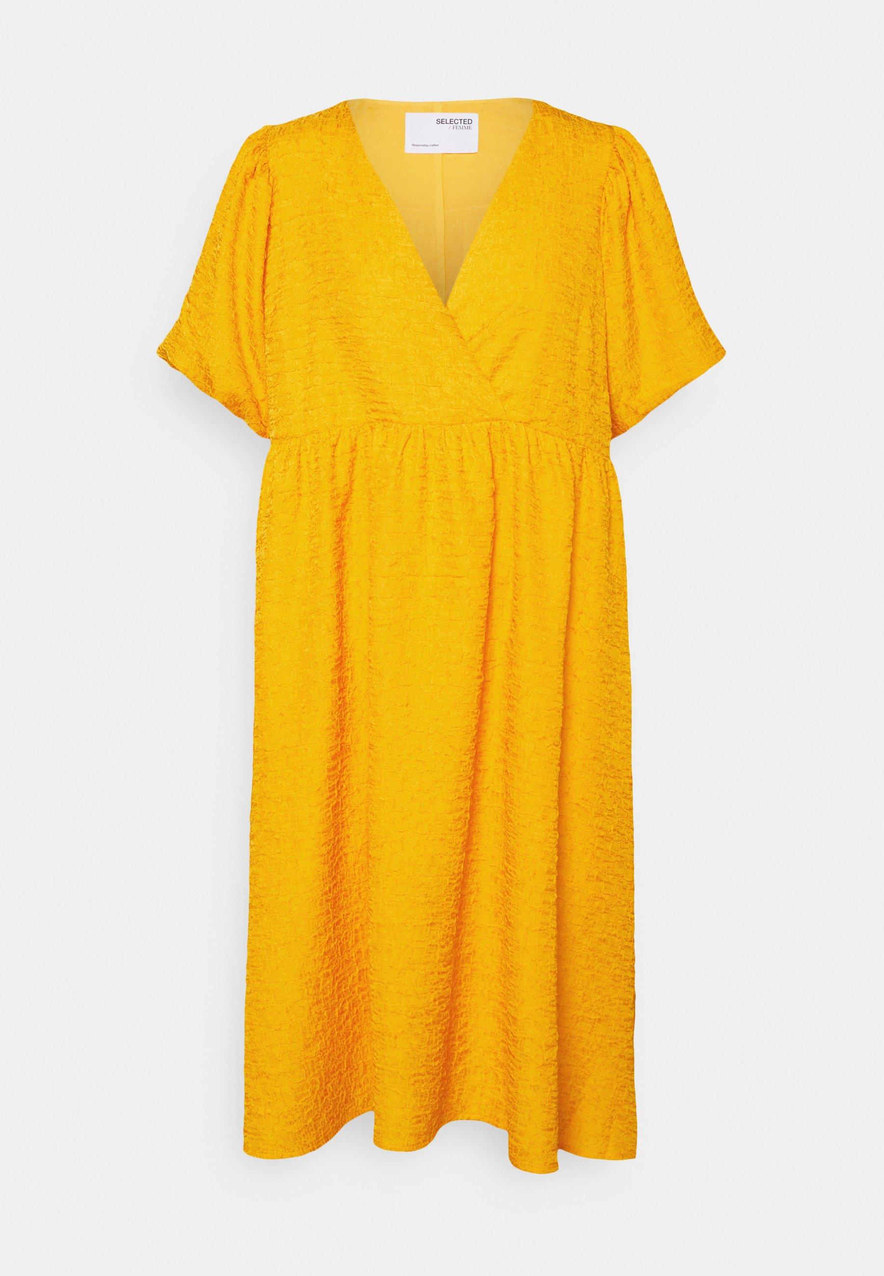 Mujer SLFLISSY MIDI WRAP DRESS - Vestido informal