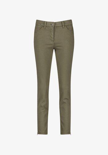 VERKÜRZT 5-POCKET BEST4ME CROPPED - Slim fit jeans - khaki