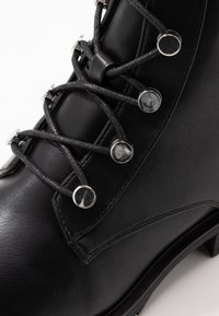 Even&Odd - Bottines à lacets - black - 2
