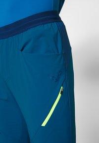 Dynafit - TRANSALPER HYBRID - Spodnie materiałowe - mykonos blue - 3