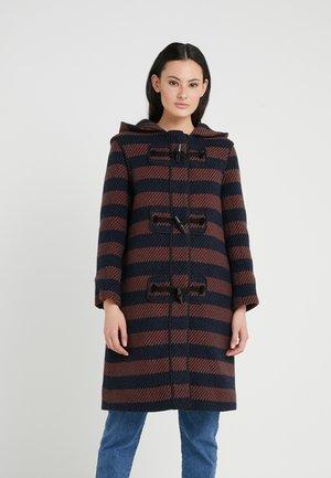 Classic coat - black/blue