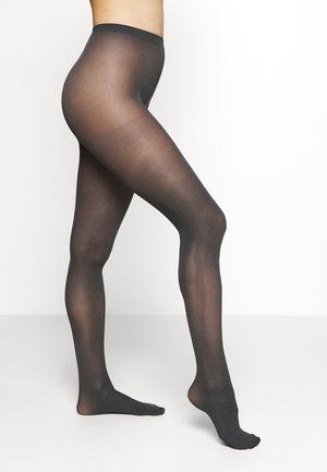 TIGHTS 2 PACK - Strømpebukser - grey melange