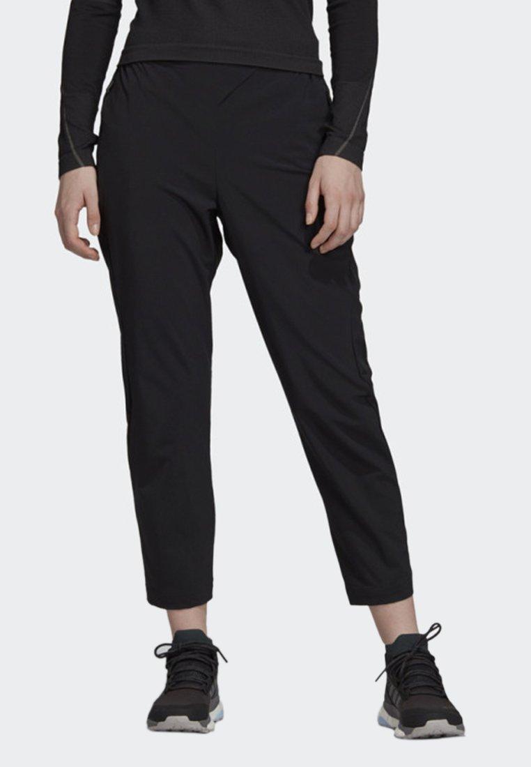 adidas Performance - HIKE TECHNICAL HIKING PANTS - Joggebukse - black