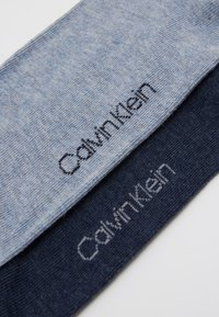 Calvin Klein Underwear - MEN CREW CASUAL 2 PACK - Calze - denim combo - 2