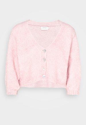 ONLBEA CARDIGAN - Kardigan - prism pink