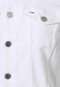 Tommy Jeans - VIVIANNE SLIM TRUCKER  - Denim jacket - white - 6