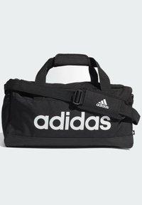 adidas Performance - ESSENTIALS LOGO DUFFEL BAG EXTRA SMALL - Sportovní taška - black - 3
