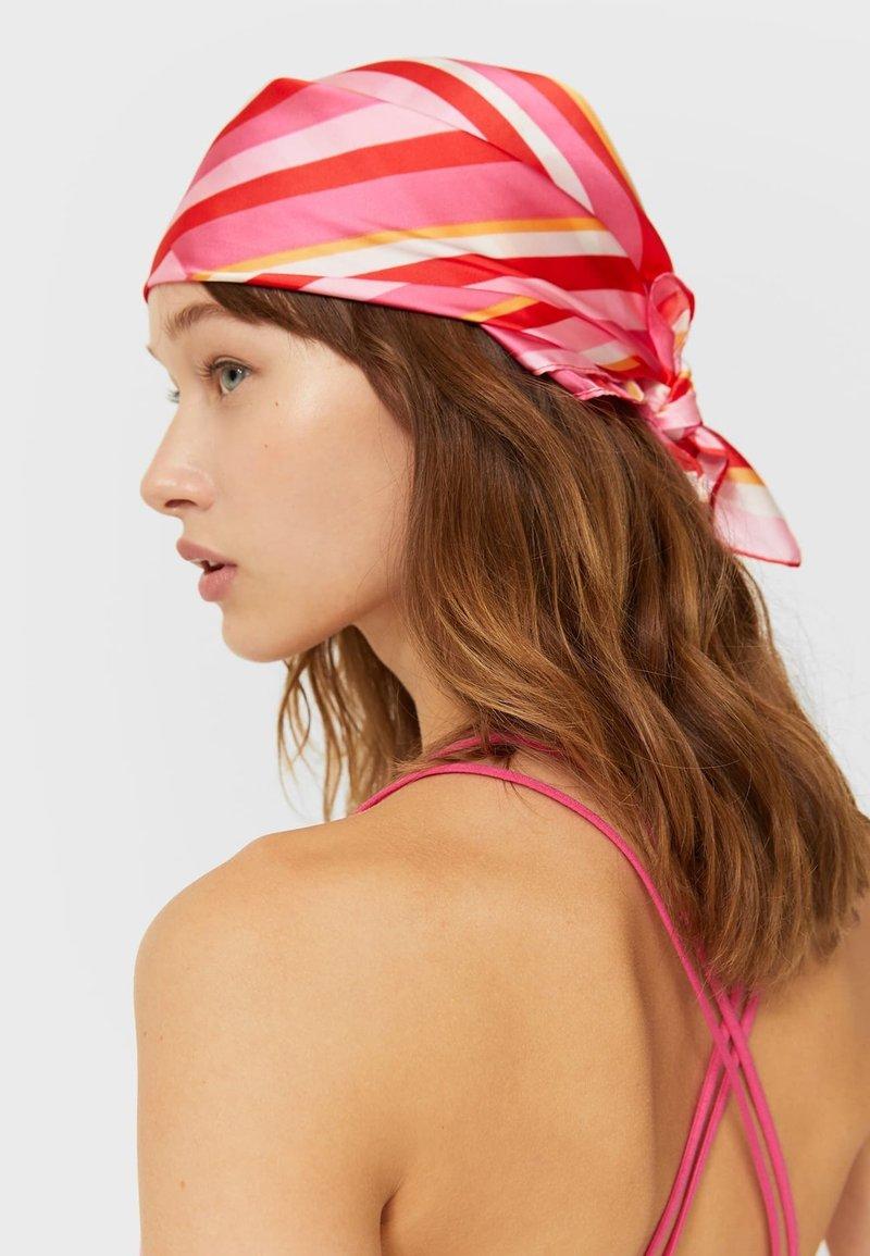 Stradivarius - 2 PACK  - Headscarf - red