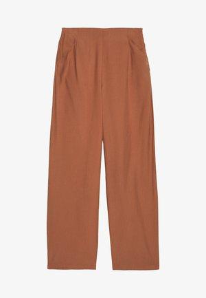 VIESTHER WIDE PANTS - Spodnie materiałowe - rawhide