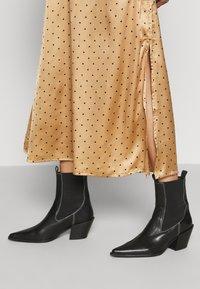 JDY - JDYDOTTIE SKIRT - A-line skirt - Tan - 3