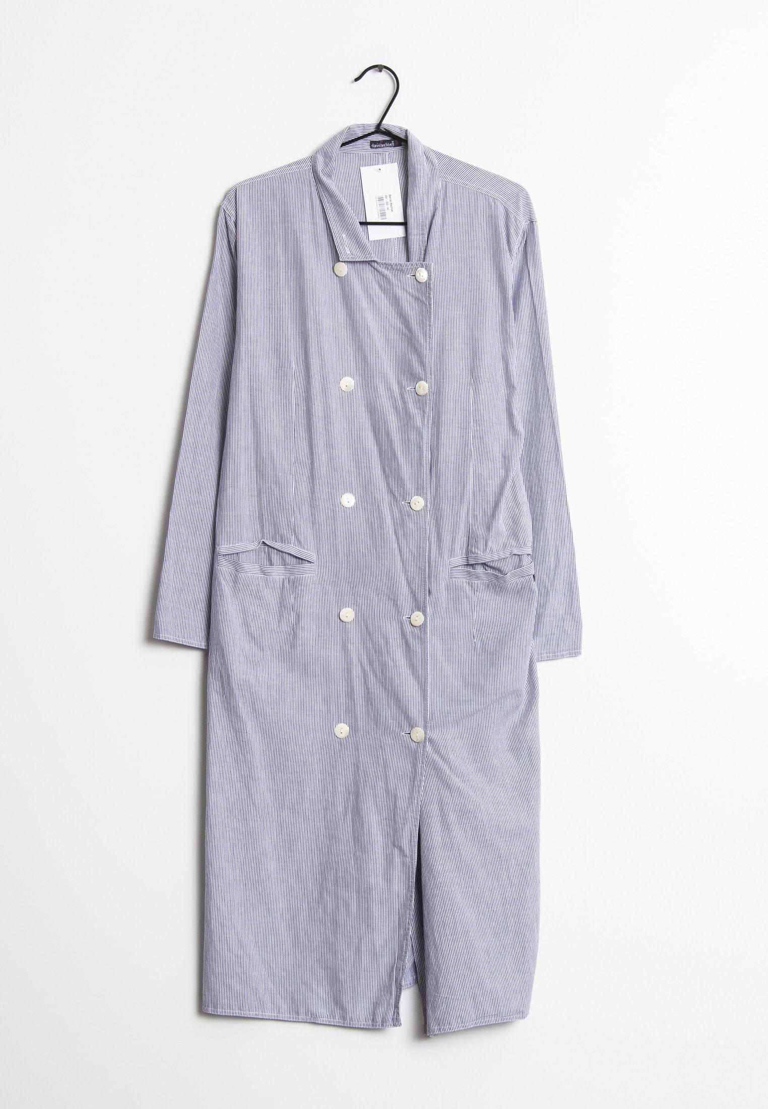 Korte jurk blue