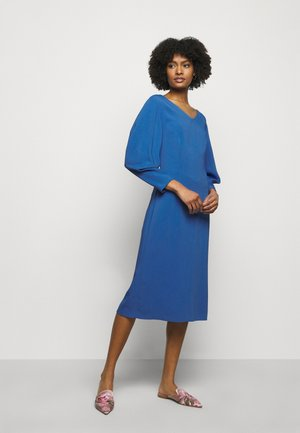 DRESS - Shift dress - blue