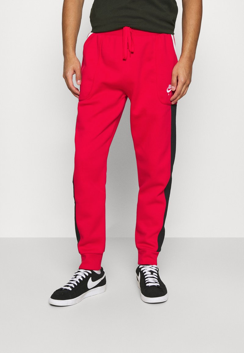 Nike Sportswear - AIR - Tracksuit bottoms - university red/black/white