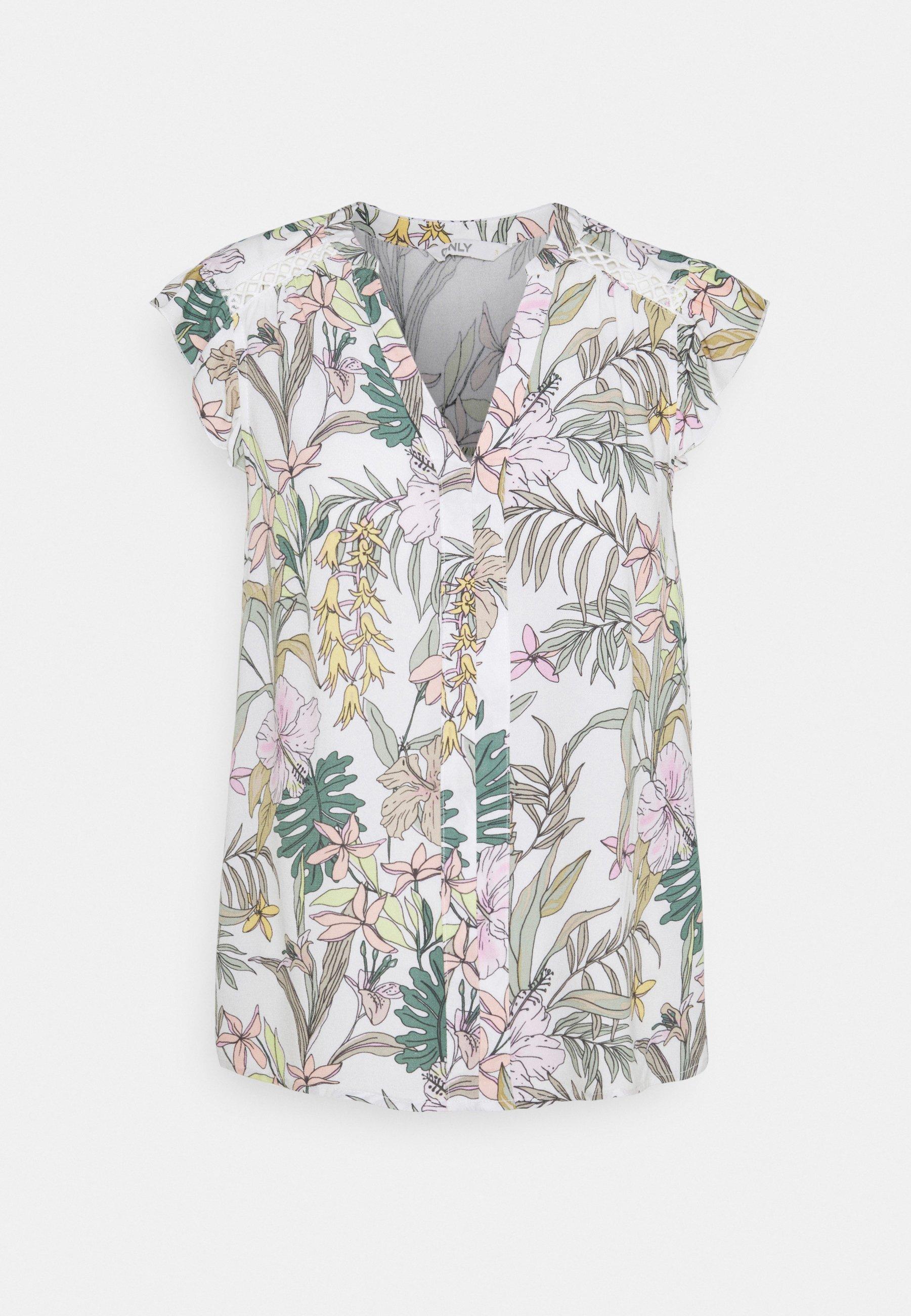 Women ONLMARS CAPSLEEVE - Print T-shirt