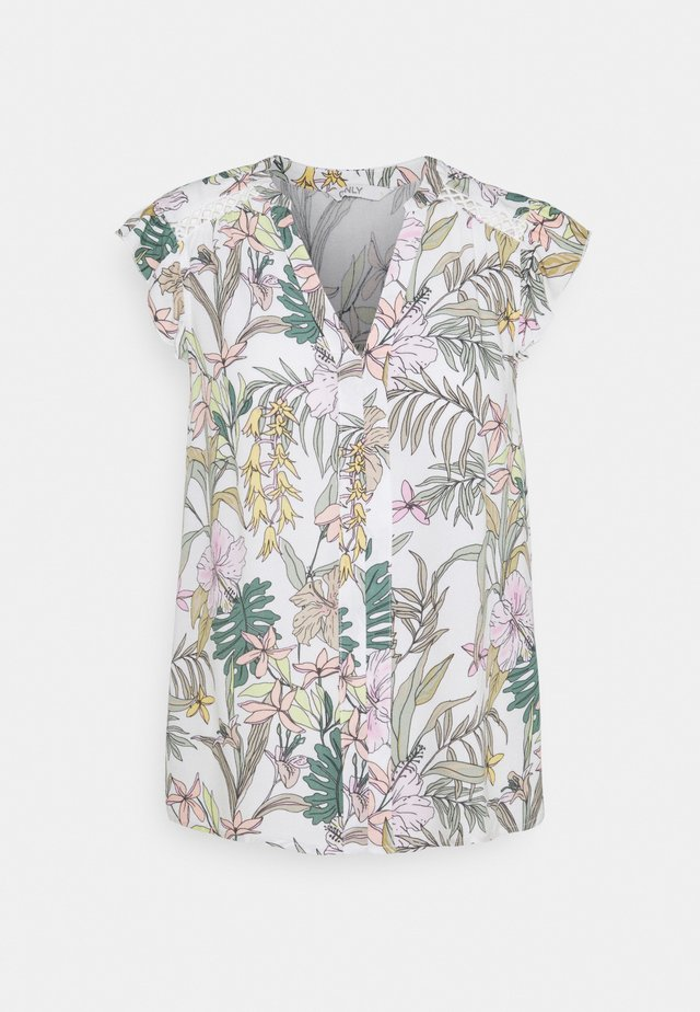 ONLMARS CAPSLEEVE - T-shirt con stampa - tofu