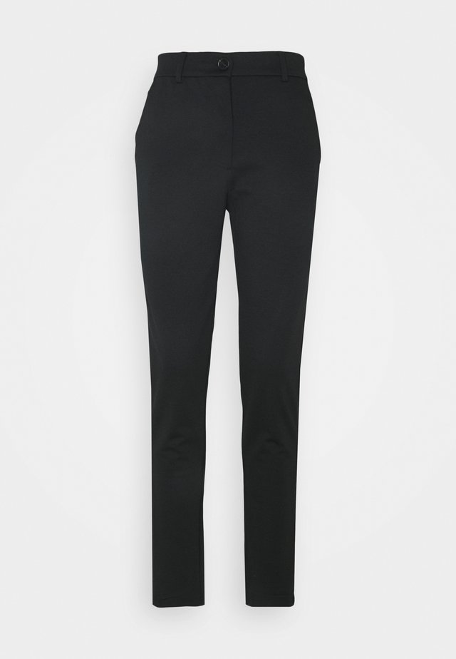 PCFIE PANTS - Bukser - black