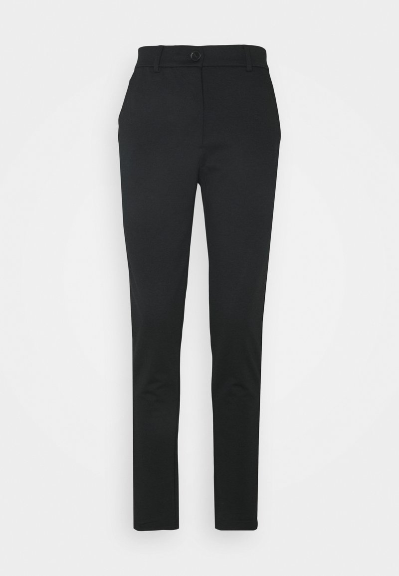 PIECES Tall - PCFIE PANTS - Trousers - black