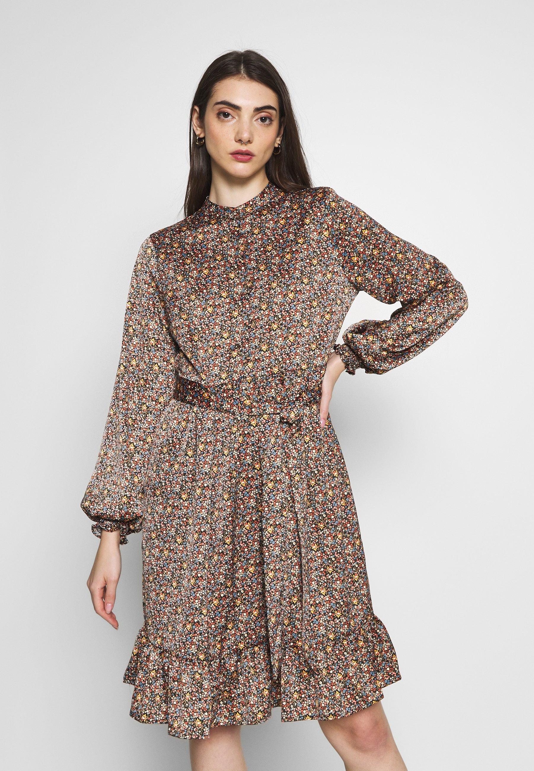 2020 Cool Women's Clothing YAS YASSIERRA DRESS Day dress black/sierra fu5N5O1yG