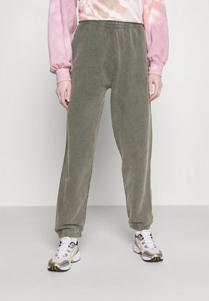 OVERDYED JOGGER - Tracksuit bottoms - charcoal