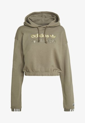 HOODIE - Jersey con capucha - clay