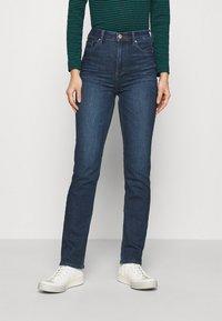 Marks & Spencer London - SOPHIA - Jeansy Straight Leg - dark blue denim - 0