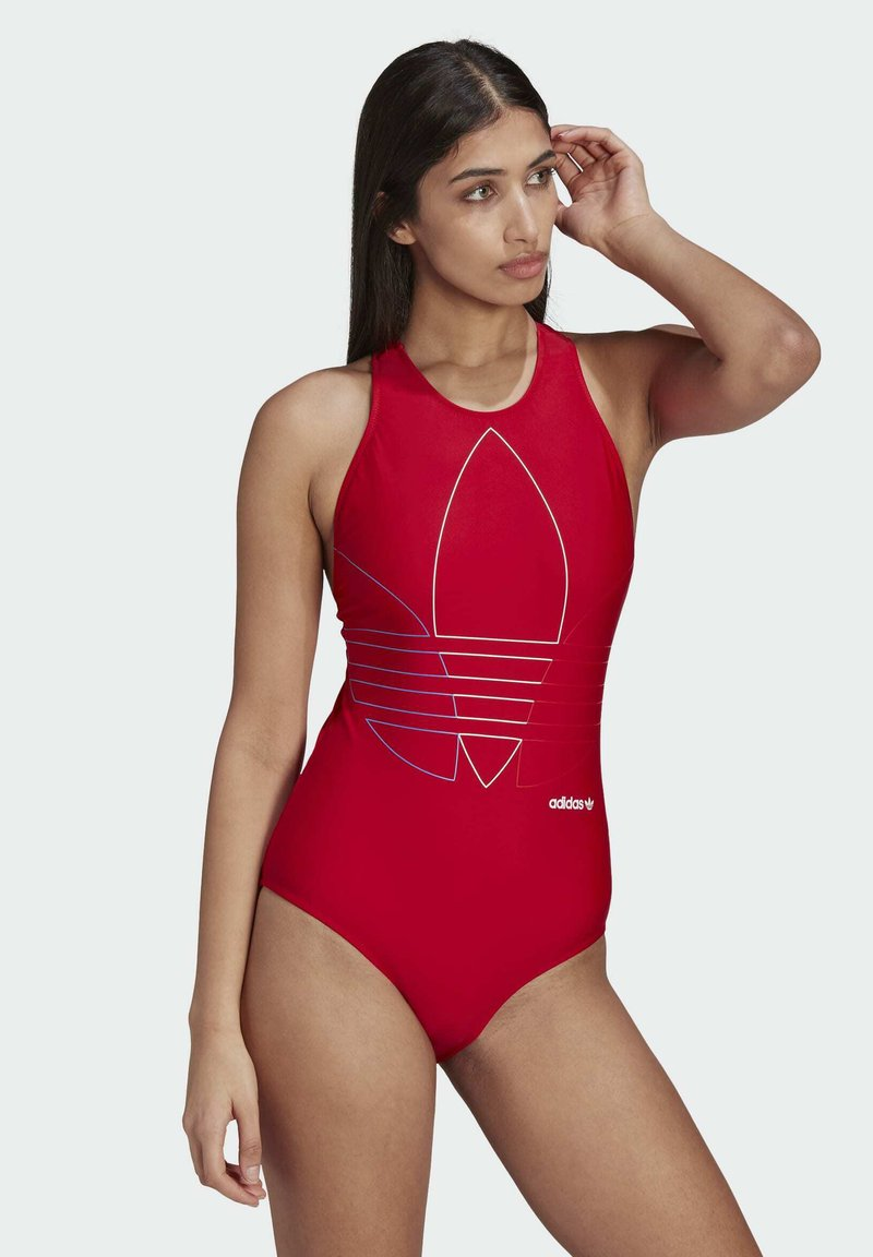 adidas Originals - Swimsuit - red