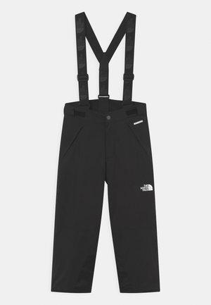 SNOWQUEST SUSPENDER UNISEX - Snow pants - black