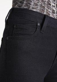 Lee - SCARLETT HIGH - Jeansy Skinny Fit - black rinse - 3